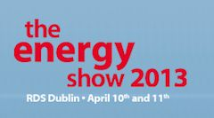 The Energy Show 2013 is on April 10…