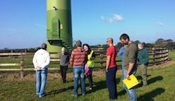 Special Wind Turbine Tour - 6th September 2014