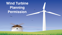 Wind Turbine Planning Permission