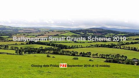 Ballynagran Small Grants Scheme 2019